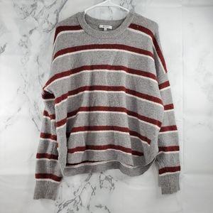 Madewell Chunky Crew Neck Wool Blend Sweater